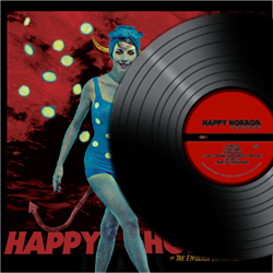 The English Language Band Music new album happy horror cd digipak record ep lp cover art