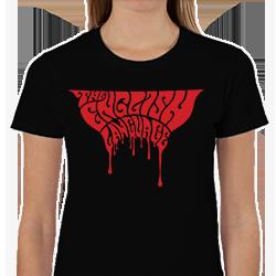 The English Language Band Music t-shirt shirt blood bloody black logo