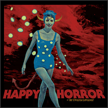 HAPPY HORROR album cover by The English Language