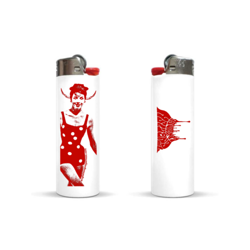 The English Language bic lighter devil merch