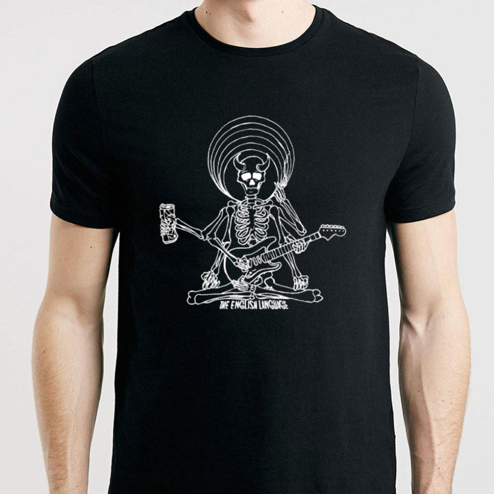 the english language band t-shirt merch dead shiva mens