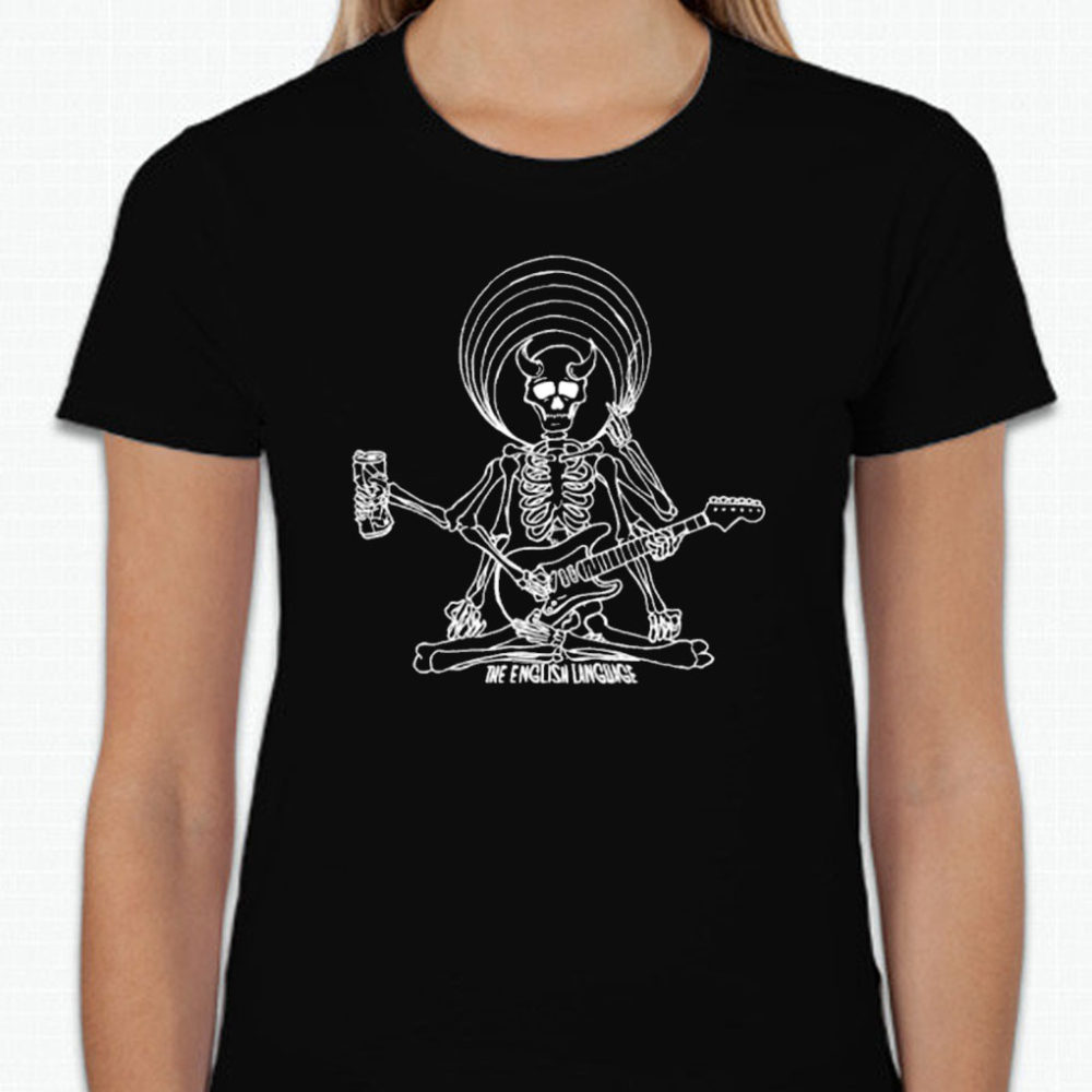 the english language band t-shirt merch dead shiva ladies